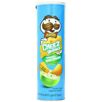 PRINGLES CHEEZUM CHED/SOURCREAM
