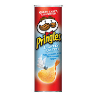 PRINGLES LIGHTLY SALTED