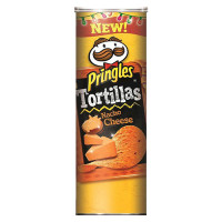 PRINGLES TORTILLA NACHO CHEESE