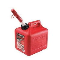 GAS CAN 2 GALLON - RED