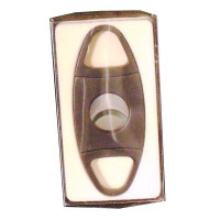 BLACK 2 FINGER CIGAR CUTTER TRIANGLE