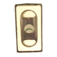 BLACK 2 FINGER CIGAR CUTTER ROUND