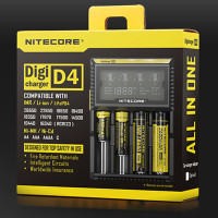 NITECORE D4 CHARGER WITH LCD SCREEN