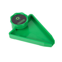 OOZE GRINDER WITH TRAY - GREEN