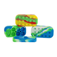 6 N 1 SILICONE LEGO CONTAINER