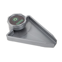 OOZE GRINDER WITH TRAY - GREY