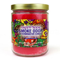 SMOKE ODOR EXTERMINATOR JAR TRIPPY HIPPIE