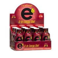 E-6 ENERGY SHOT FRUIT PUNCH