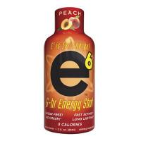 E-6 ENERGY SHOT PEACH