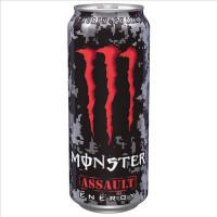 MONSTER ENERGY ASSAULT RED