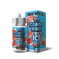 CANDY KING ON ICE STRAWBERRY BELTS 100ML