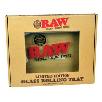 RAW CLASSIC LIMITED EDITION GLASS ROLLING TRAY