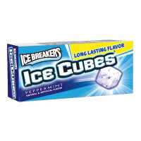ICE BREAKER GUM CUBES PEPPERMINT