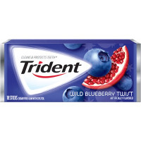 TRIDENT GUM WILD BLUEBERRY TWIST