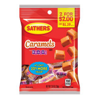 SATHERS 2@2.00 CARAMELS