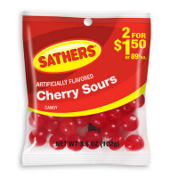 SATHERS 2@2.00 CHERRY SOURS