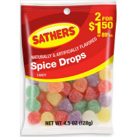 SATHERS 2@2.00 SPICE DROPS