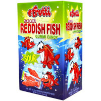 E. FRUTTI SOUR REDDISH FISH
