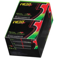 FIVE GUM PRISM ELECTRIC WATERMELON RED/GREEN