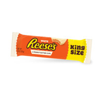 KING REESE'S PEANUT BUTTER CUP WHITE