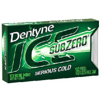 DENTYNE ICE SUB ZERO ICEBERG MINT