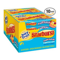 JUICY FRUIT STARBURST FRUIT PUNCH