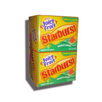 JUICY FRUIT STARBURST WATERMELON