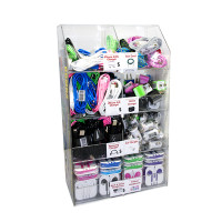 CELL PHONE PREMIUM ACCESSORIES DISPLAY