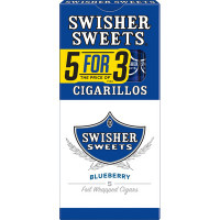 SWISHER CIG BLUE 5 FOR 3