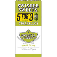 SWISHER CIG WT.GRAPE 5 FOR 3