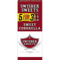SWISHER CORONELLA 5 FOR 3