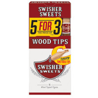 SWISHER WOOD TIP 5 FOR 3