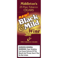 BLACK & MILD WINE - UPRIGHT