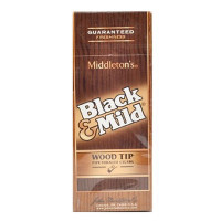 BLACK & MILD WOOD TIP - UPRIGHT