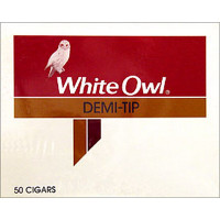 WHITE OWL DEMI TIP BOX