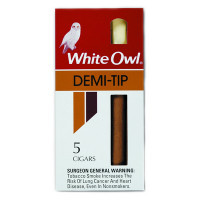 WHITE OWL DEMI TIP           2-5PK/10