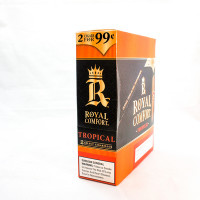 ROYAL COMFORT CIG TROPICAL 2/.99