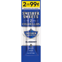 SWISHER CIG FP BLUE 2/.99