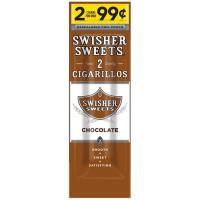 SWISHER CIG FP CHOCO 2/.99