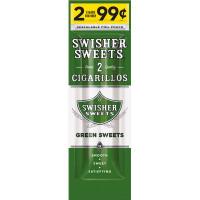 SWISHER CIG FP GREEN 2/.99