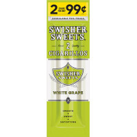 SWISHER CIG FP WHITE GRAPE 2/.99