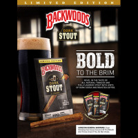 BACKWOODS DARK STOUT 5PK