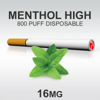 TSUNAMI DISPOSABLE 800 MENTHOL HIGH