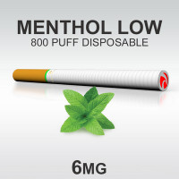 TSUNAMI DISPOSABLE 800 MENTHOL LOW