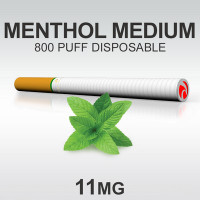 TSUNAMI DISPOSABLE 800 MENTHOL MEDIUM
