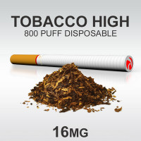 TSUNAMI DISPOSABLE 800 TOBACCO HIGH