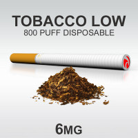 TSUNAMI DISPOSABLE 800 TOBACCO LOW