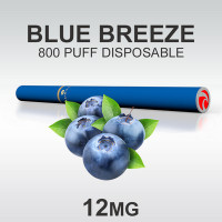 TSUNAMI HOOKAH BLUE BREEZE BLBRY MT