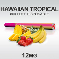TSUNAMI HOOKAH HAWAIIAN TROPICAL