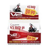 V2 CIGS CARTRIDGE RED 18MG